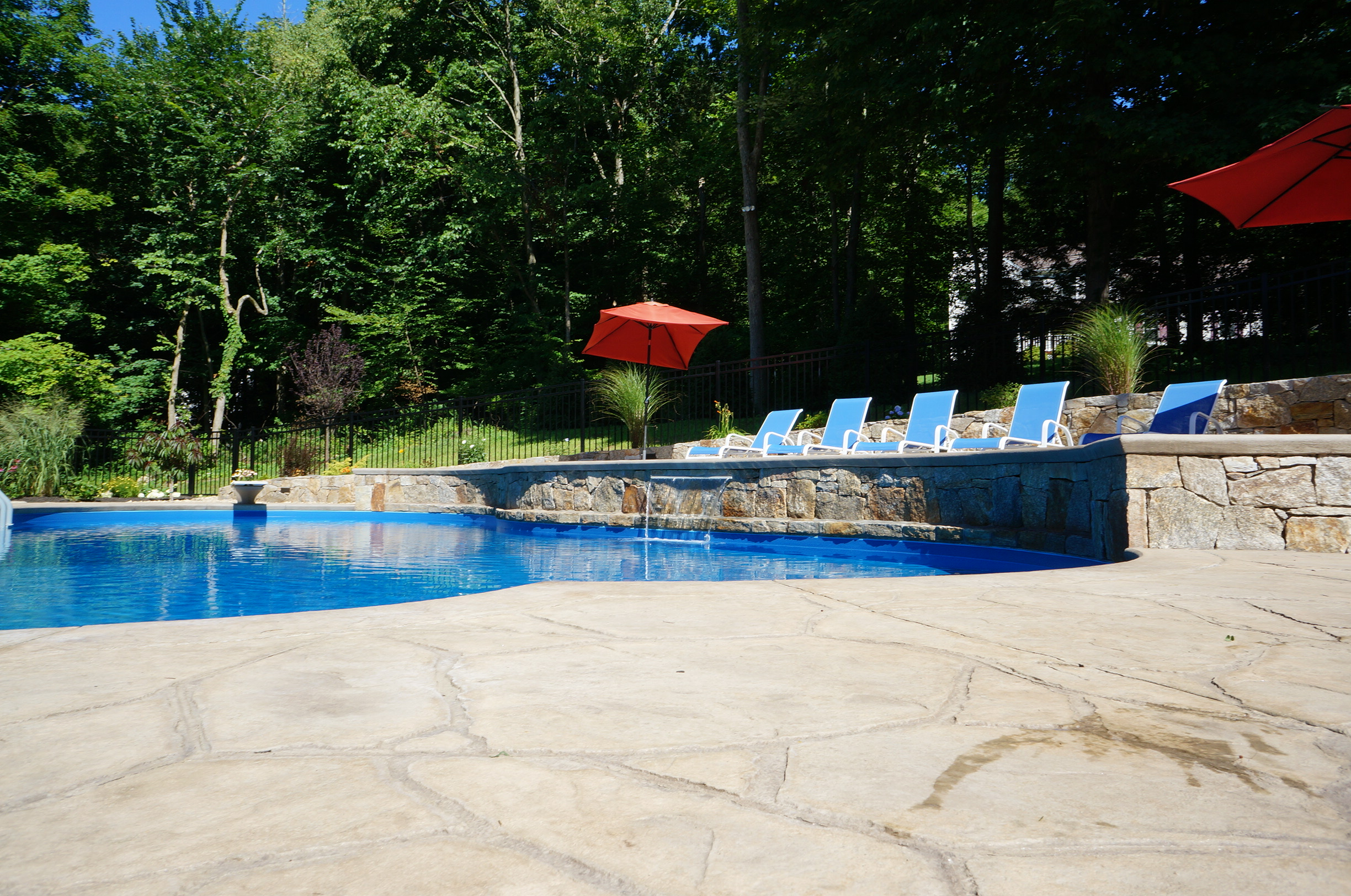 Water Features Inground Pools In Brewster Ny Newtown