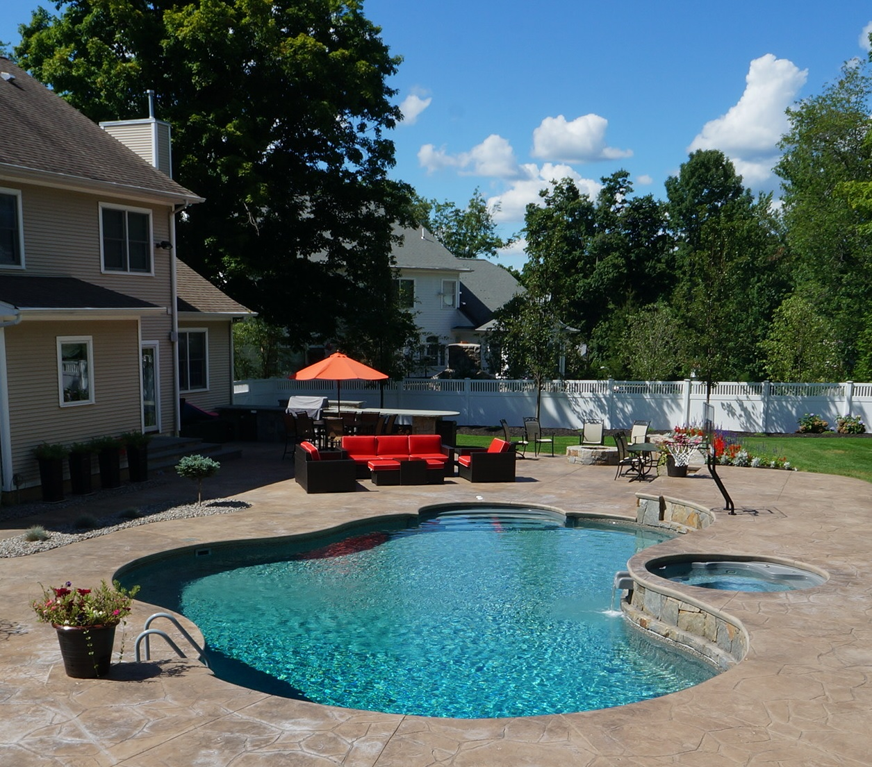 Inground Pools in Danbury, CT - Nejame & Sons